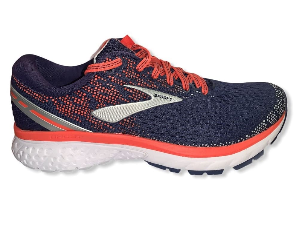 Brooks Ghost 11 Navy/Coral - 40,5