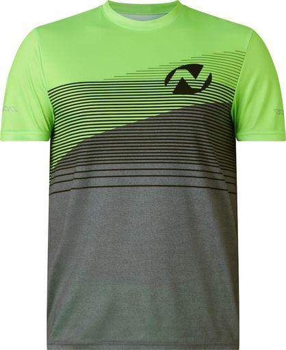 Denzel Men T-Shirt Anthracite/Green - XL