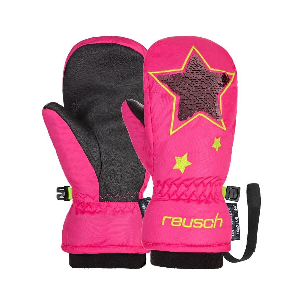 Reusch Halley R-TEX® XT Mitten Knockout Pink - 4