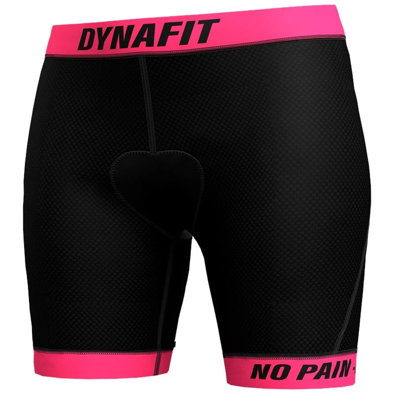 DYNAFIT RIDE PADDED W UNDER SHORT black out/0520/STRIPED - XS