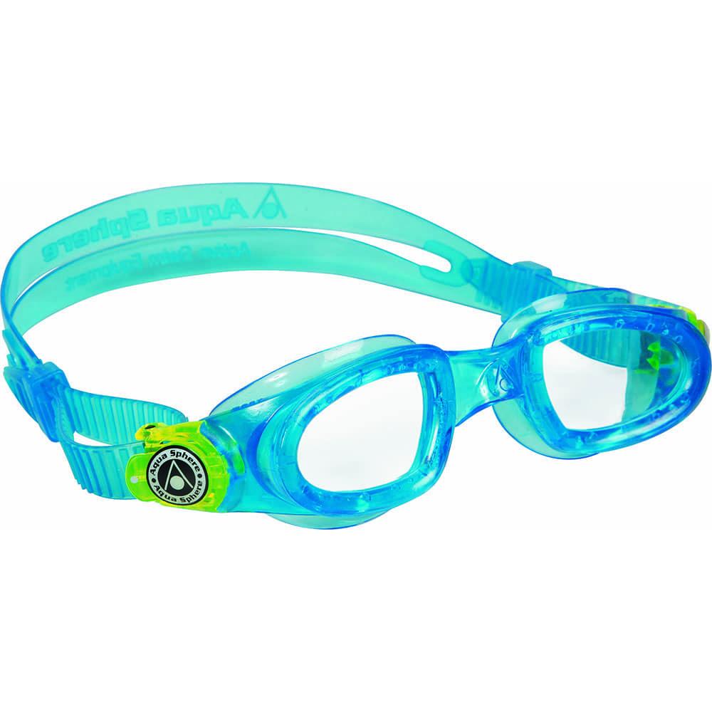 Aqua Sphere Moby Kid Schwimmbrille Aqua/Lime