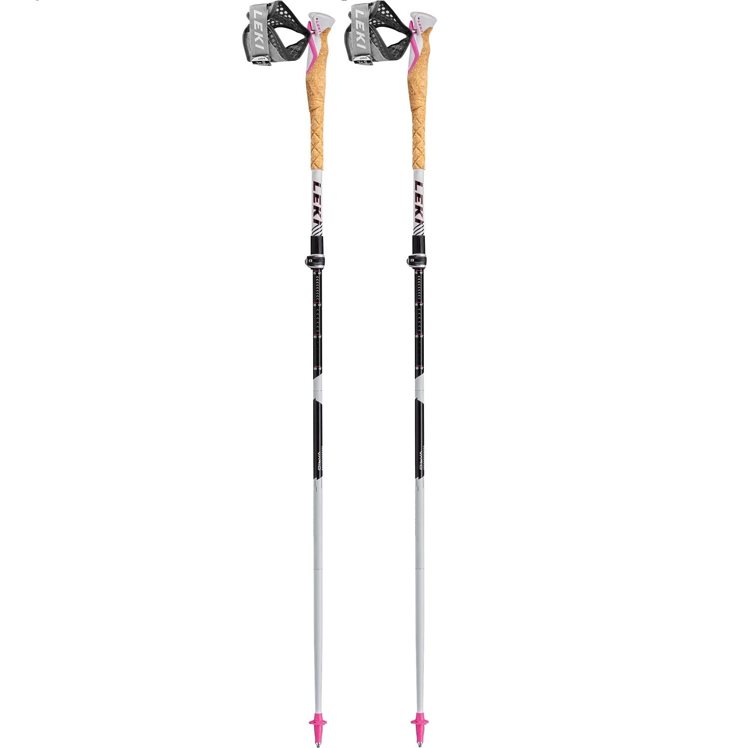 Leki MCT Vario TA Women White/Black/Rhodaminered - Uni