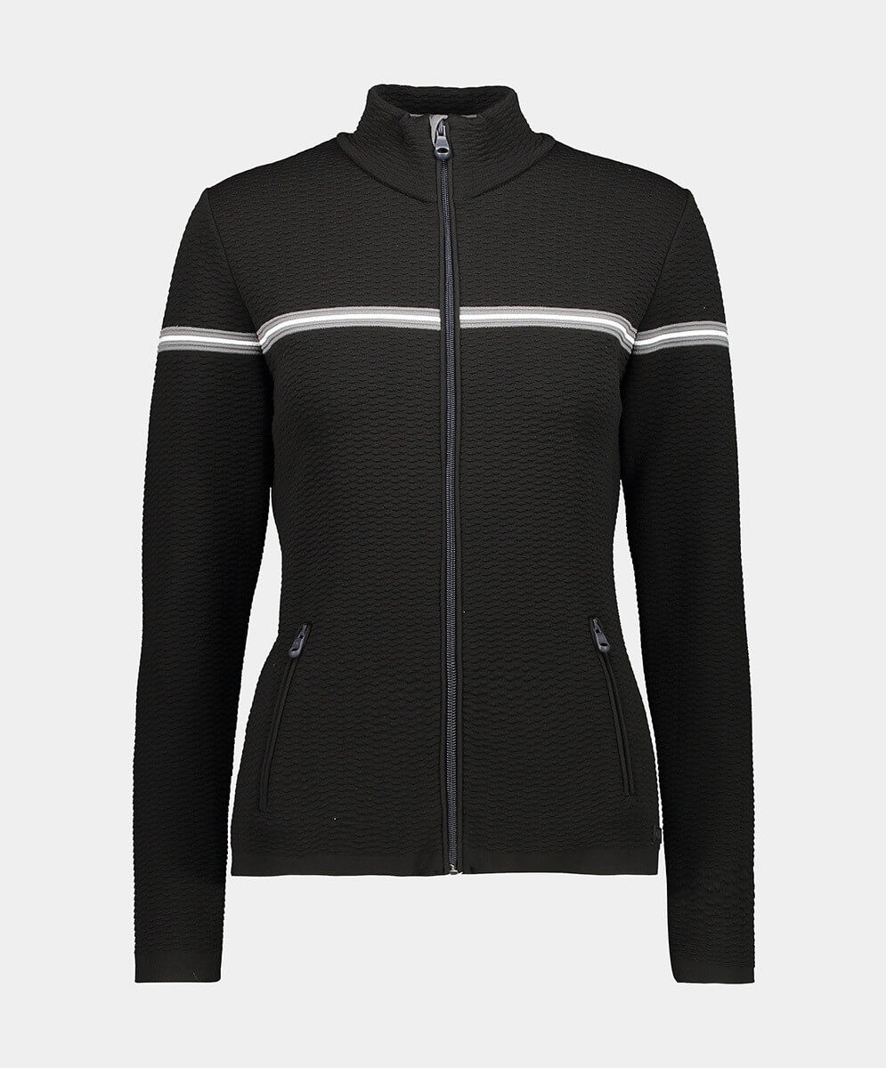 CMP WOMAN JACKET KNITTED PP NERO - 48/42