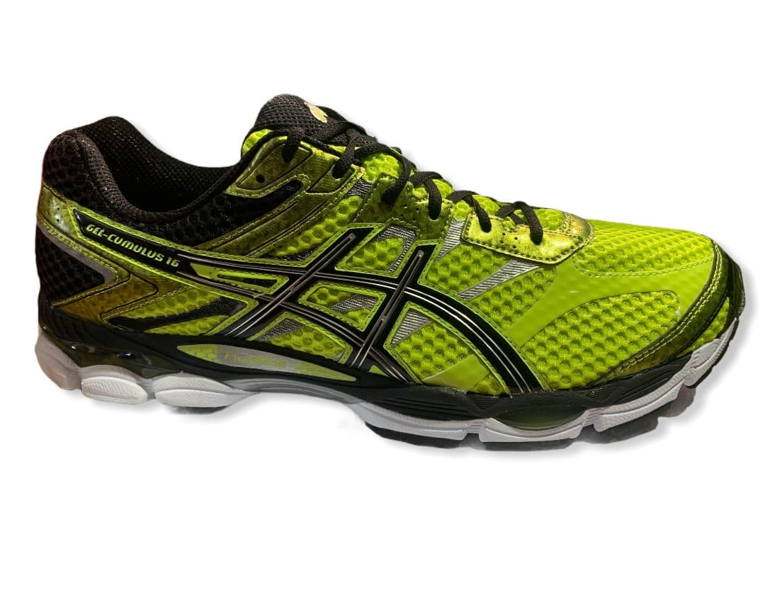 Asics Gel-Cumulus 16 Lime/Black/Lightening - 50,5
