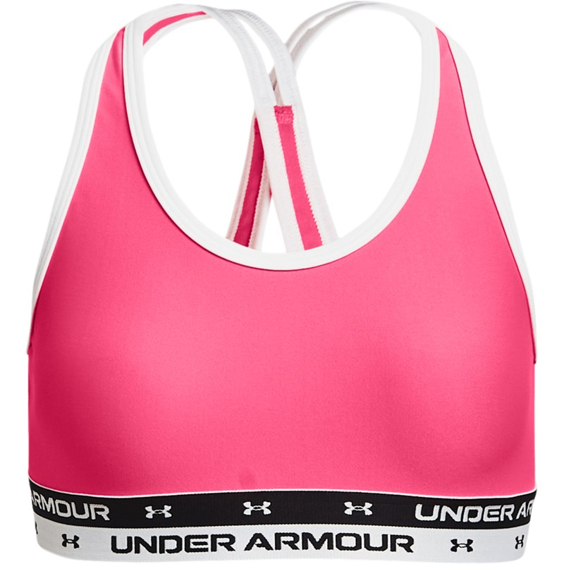 UNDER ARMOUR CROSSBACK SOLID CERISE - YMD