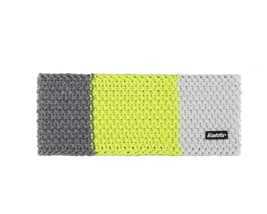 Eisbär Jamies Flag Stirnband grau/gelb/weiß