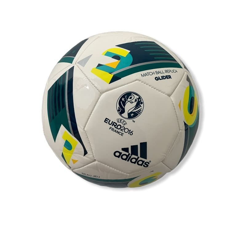 Adidas Matchball Replica Glider Euro 2016 France White/Green - 5