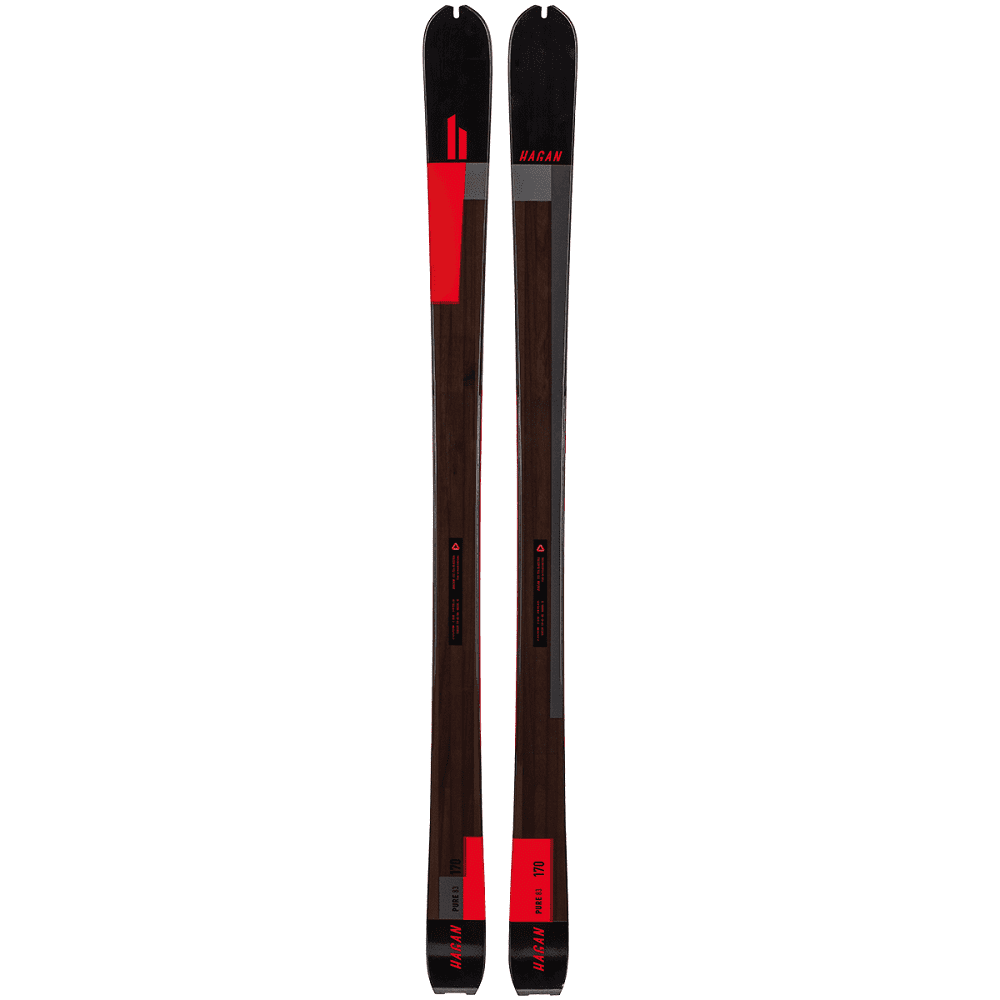 Hagan Pure 83 black/red - 170 cm