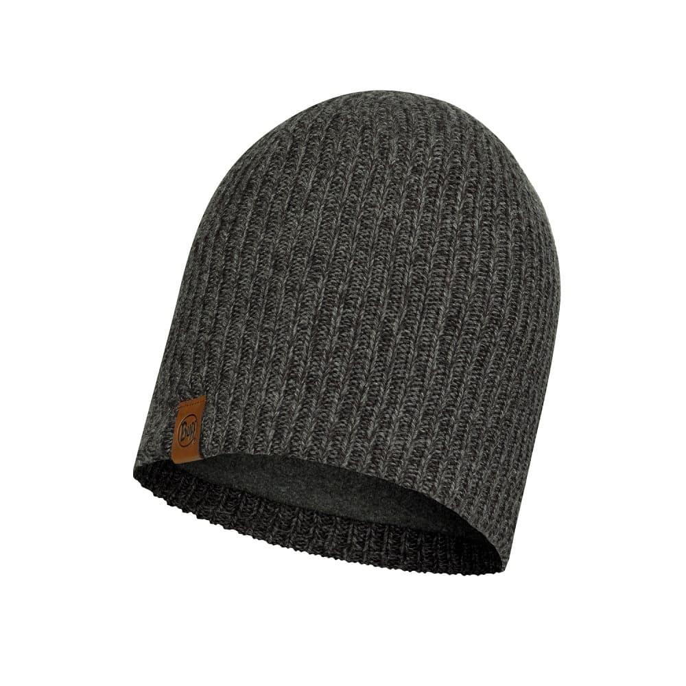 BUFF Knitted & Full Fleece Hat LYNE GREY