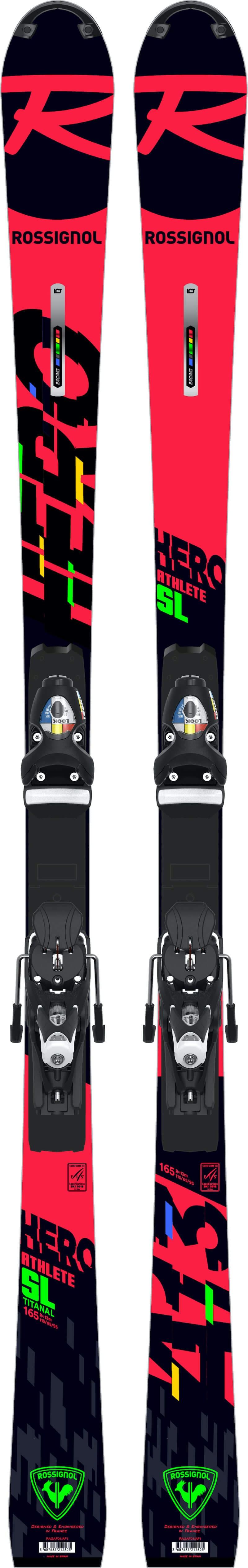 ROSSIGNOL HERO ATHLETE 157 SL R22/SPX15 RKB - 157 cm