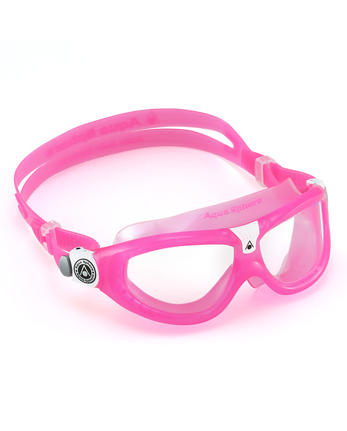 Aqua Sphere Seal Kid 2 Schwimmbrille Pink/White -