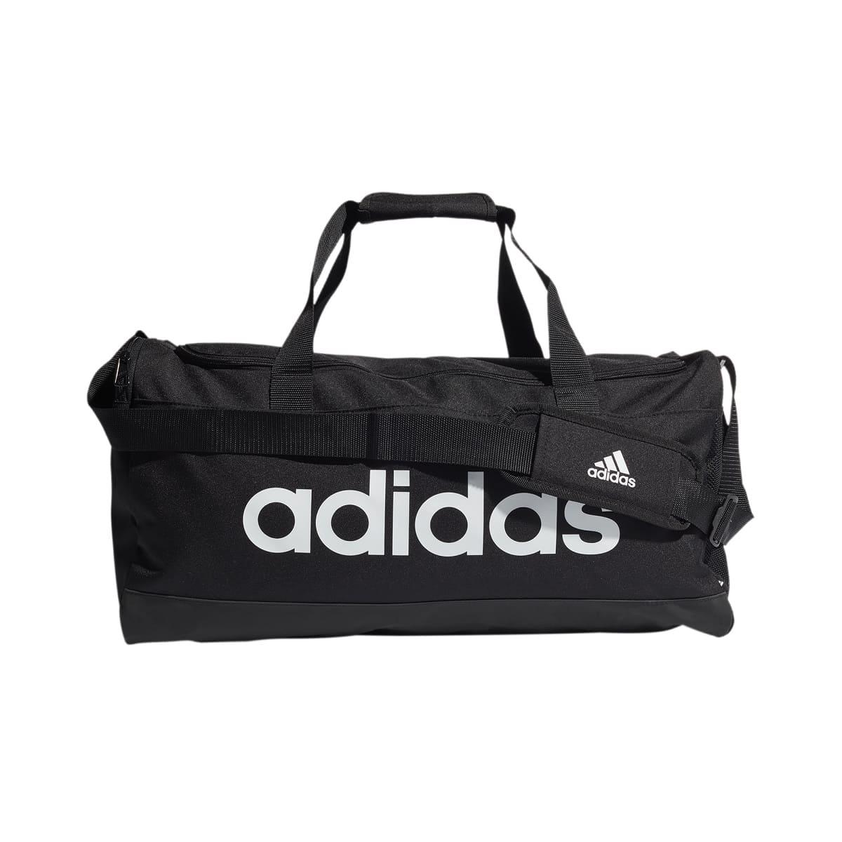 Adidas Essentials Duffel Bag M BLACK/WHITE -