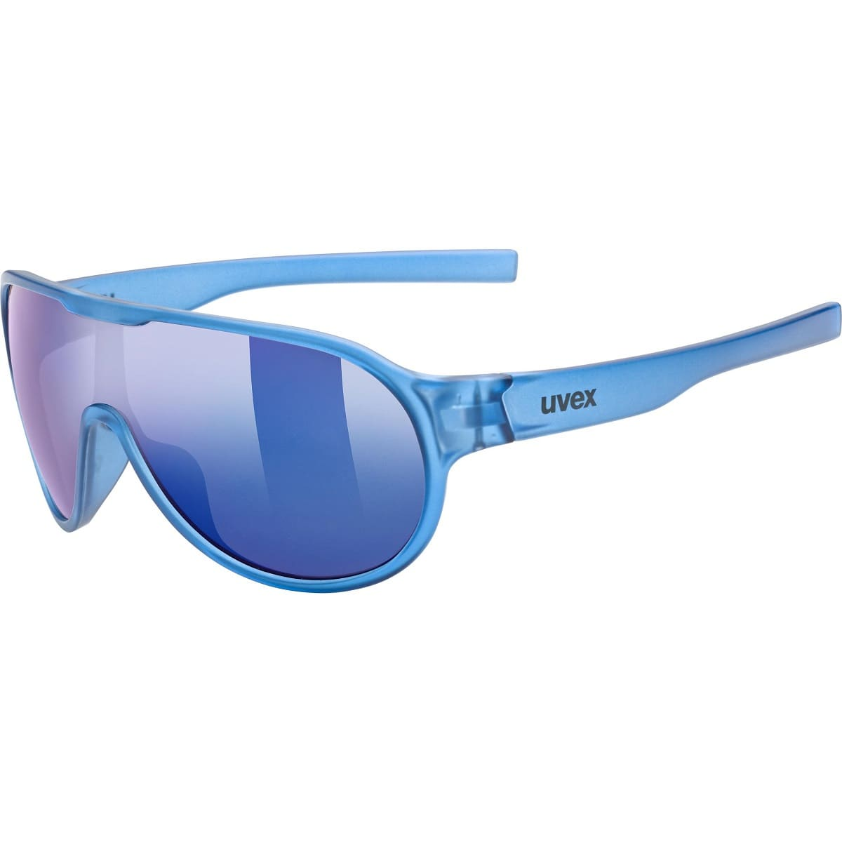 Uvex Sportstyle 512 Blue Transparent