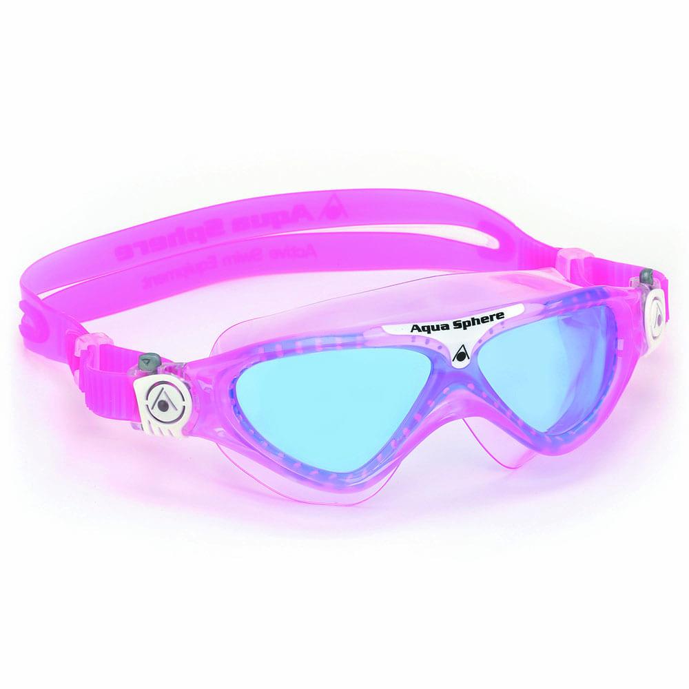 Aqua Sphere Vista Junior Schwimmbrille Pink/White -