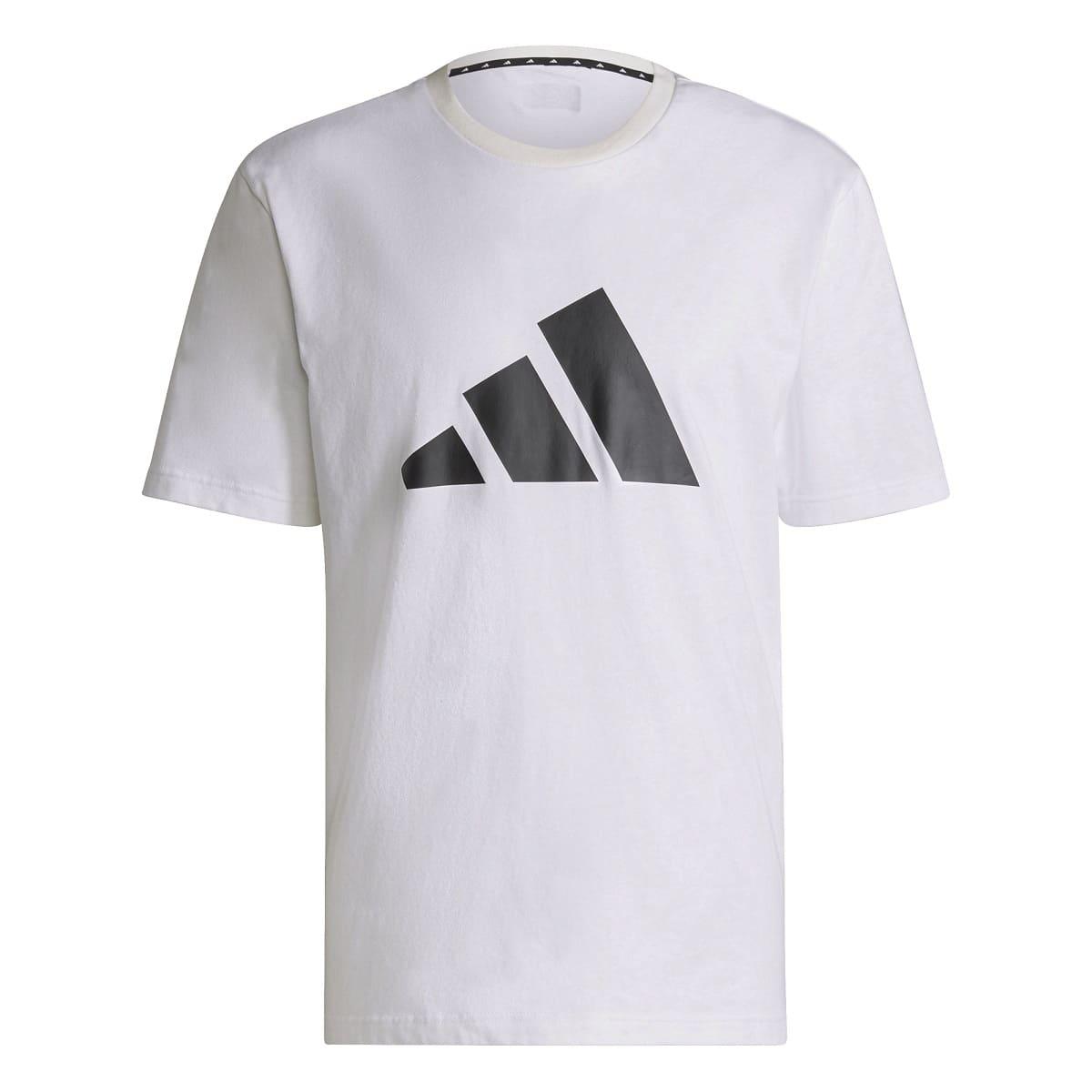 ADIDAS HERREN T-SHIRT 3BAR WHITE - S