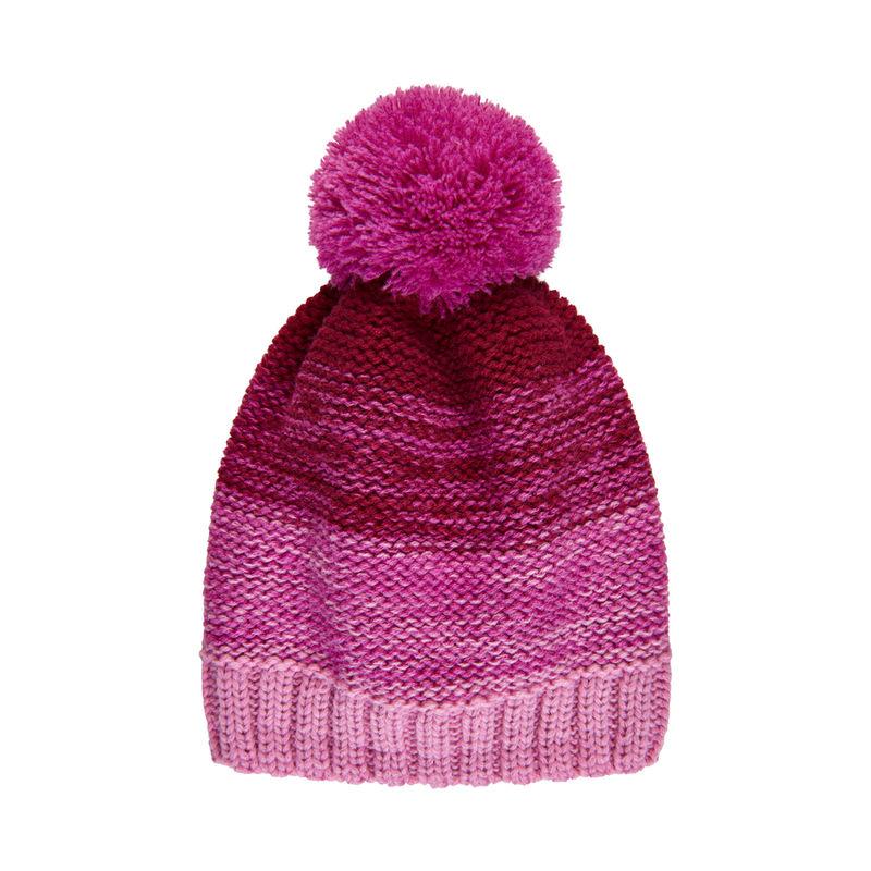 Color Kids Mütze mit Fleecefutter Fuchsia Pink - 54