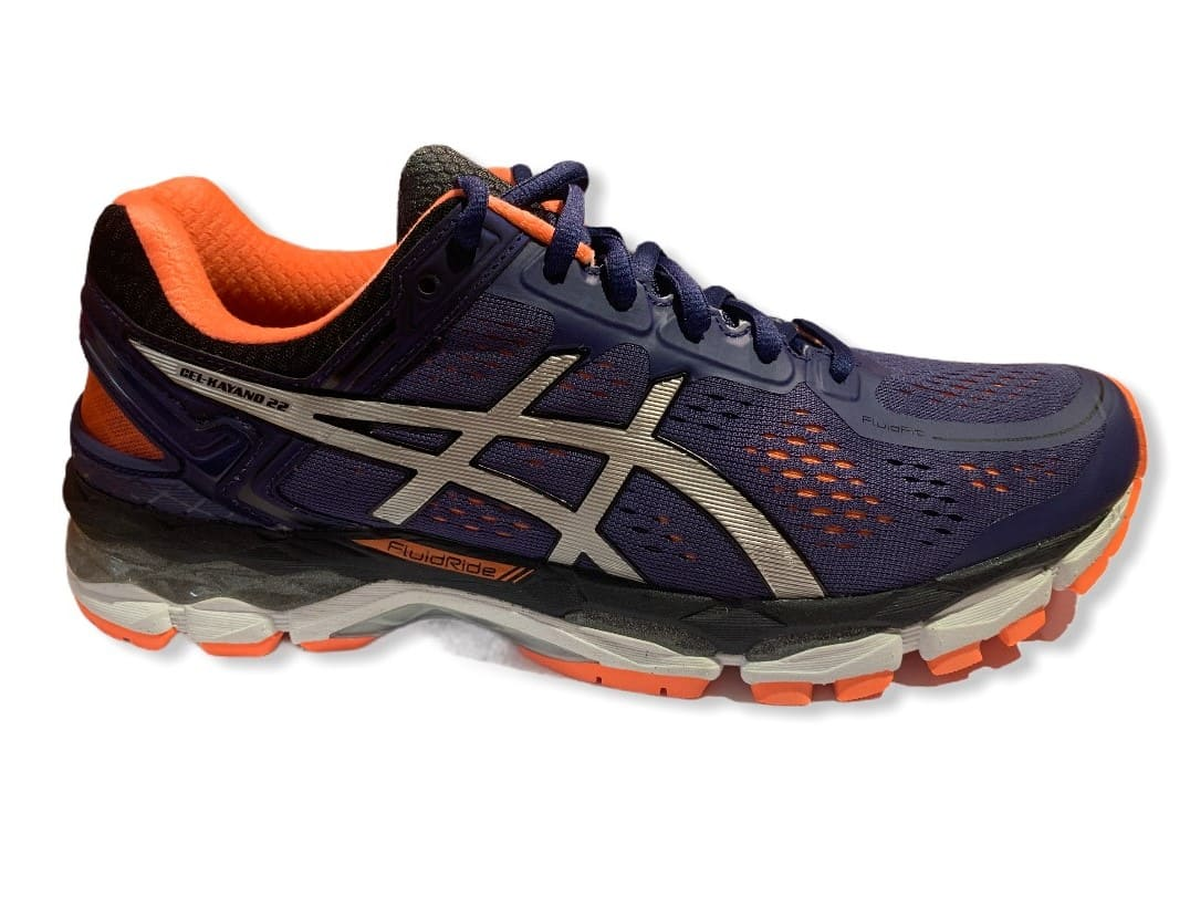 Asics Gel-Kayano 22 Cobalt/Silver/Orange - 42,5