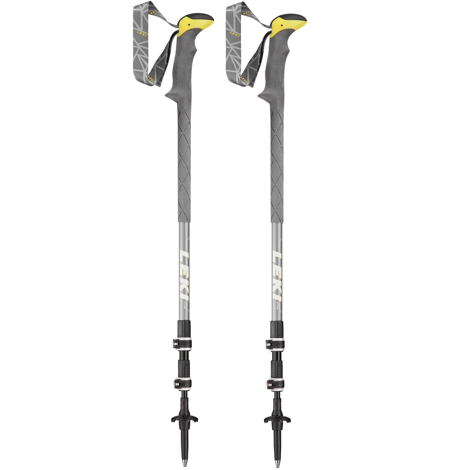 Leki Sherpa XTG Grey/White/Yellow - Uni