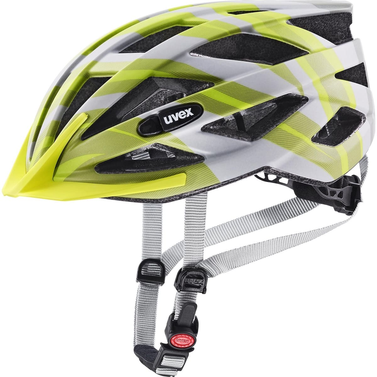 Uvex Air Wing cc Grey-Lime Mat - 52-57
