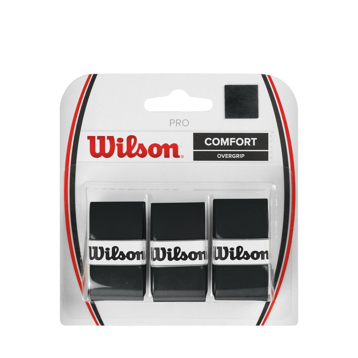 WILSON PRO OVERGRIP COMFORT - SCHWARZ