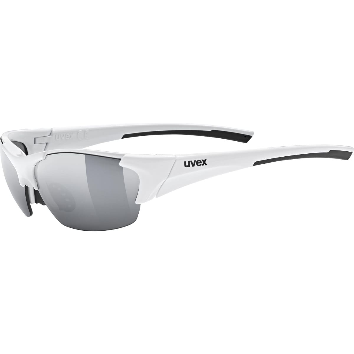 Uvex Blaze III White Black