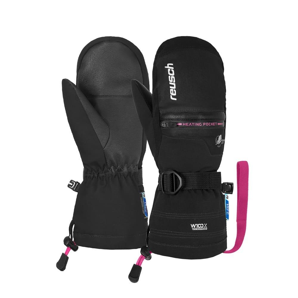 Reusch Luis R-TEX® XT Junior Mitten Black/Pink - 4,5