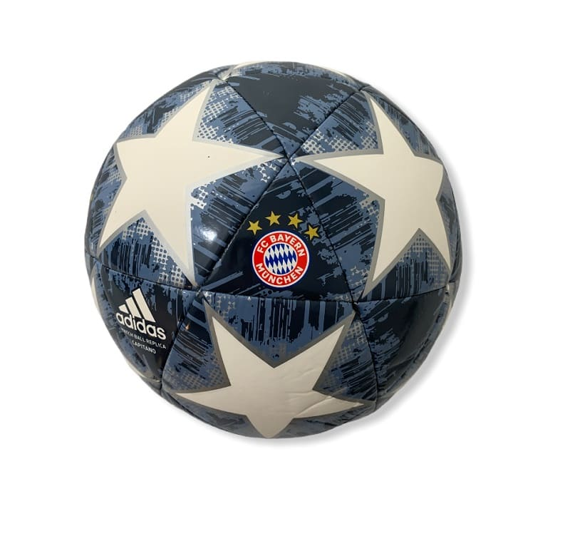 Adidas Match Ball Replica Capitano FC Bayern München White/Black/Silver - 5