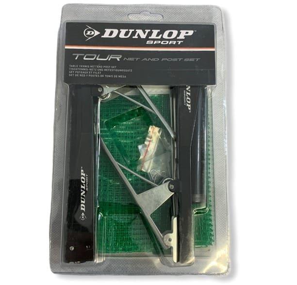 Dunlop Tour Tischtennisnetz und Befestigungssatz