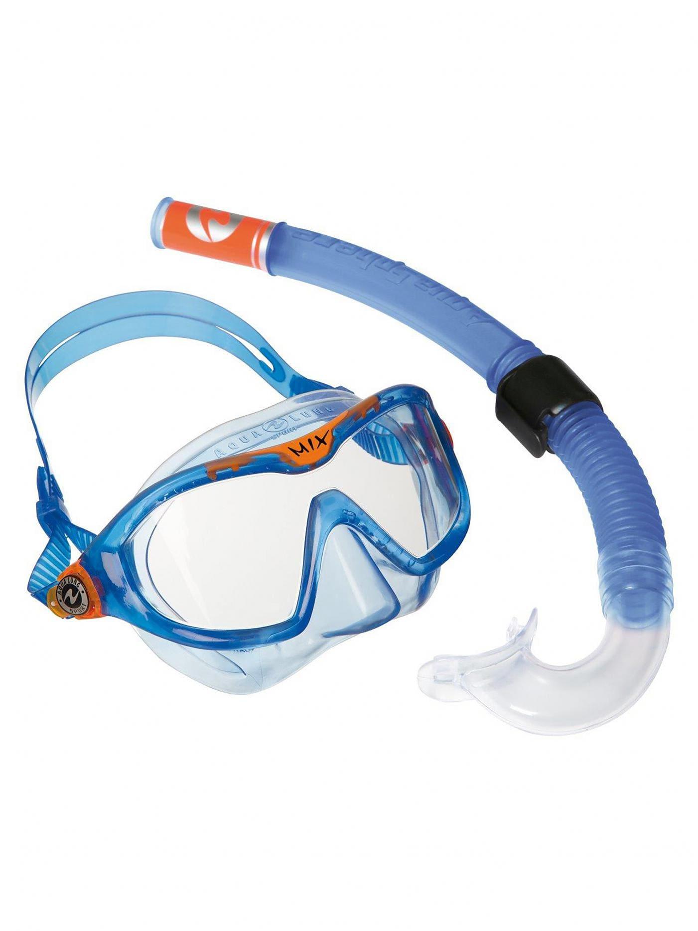 Aqua Lung Combo Mix Set Taucherbrille Blue/Orange -