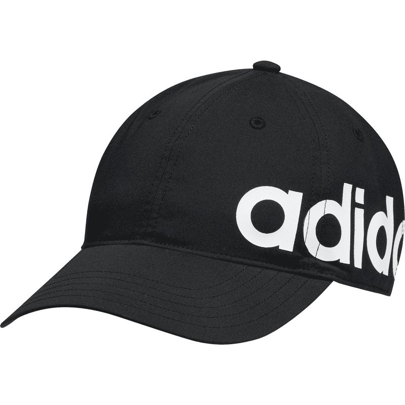 ADIDAS BASEBALL CAP BOLD BLACK/BLACK/WHITE - OSFM