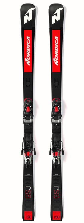 Nordica Dobermann GSJ Plate Black/Red - 157 cm