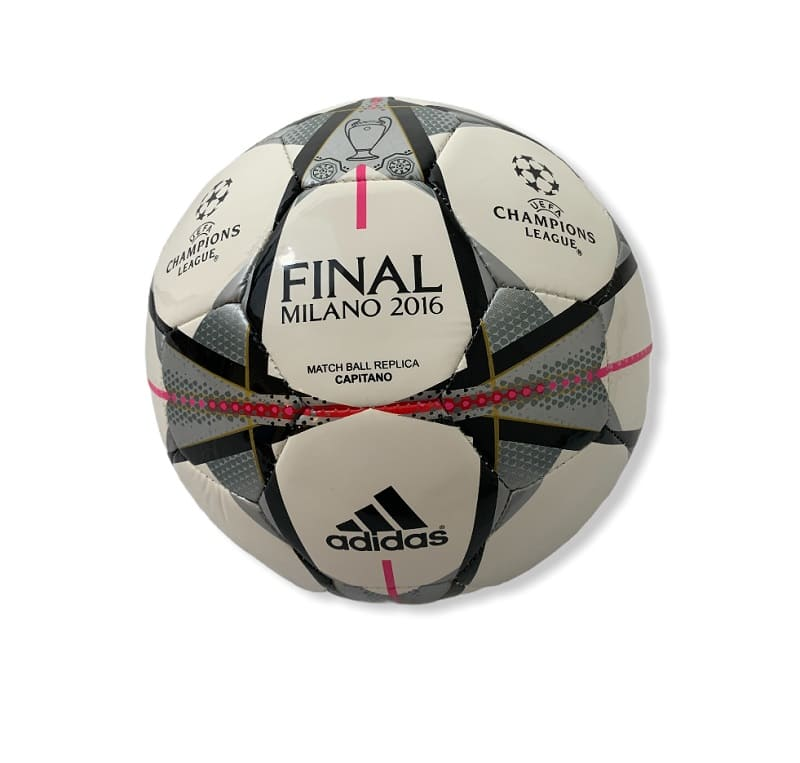 Adidas Match Ball Replica Capitan Milano 2016 White/Silver - 5
