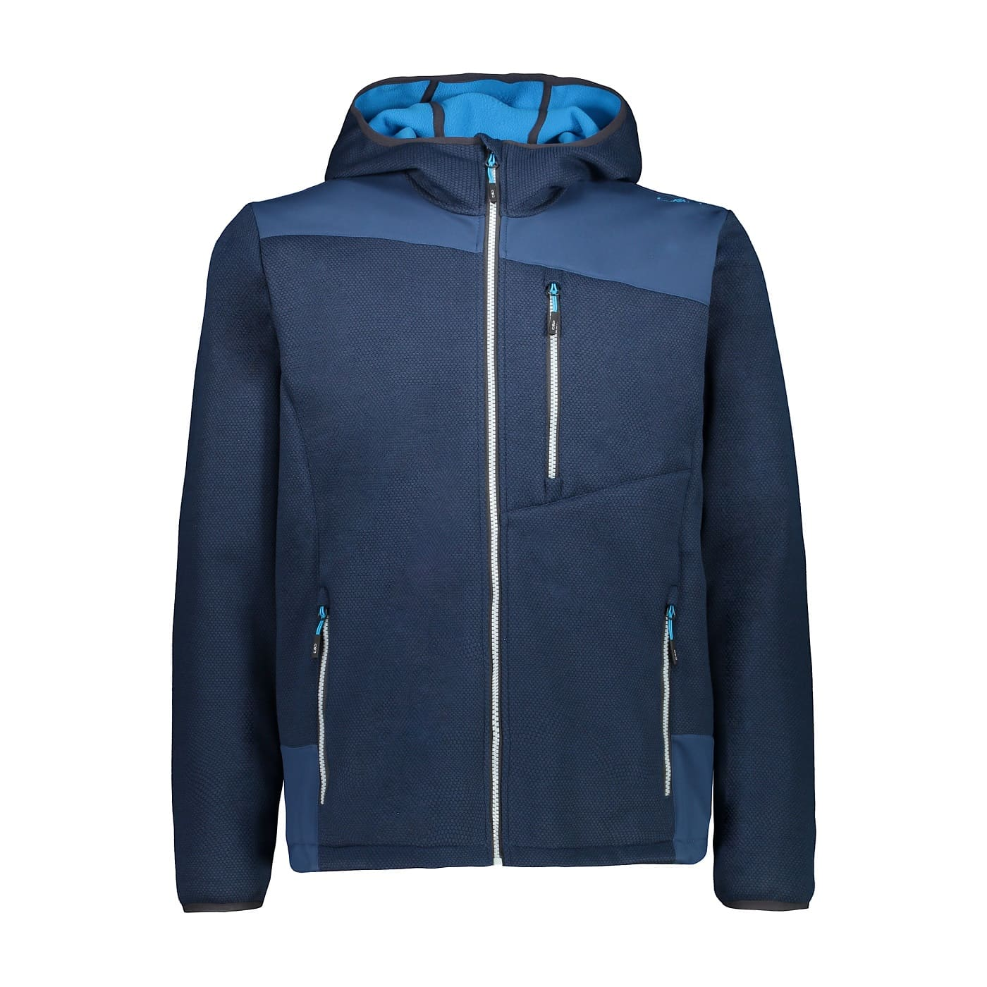 CMP MAN JACKET FIX HOOD BLUE INK - 50
