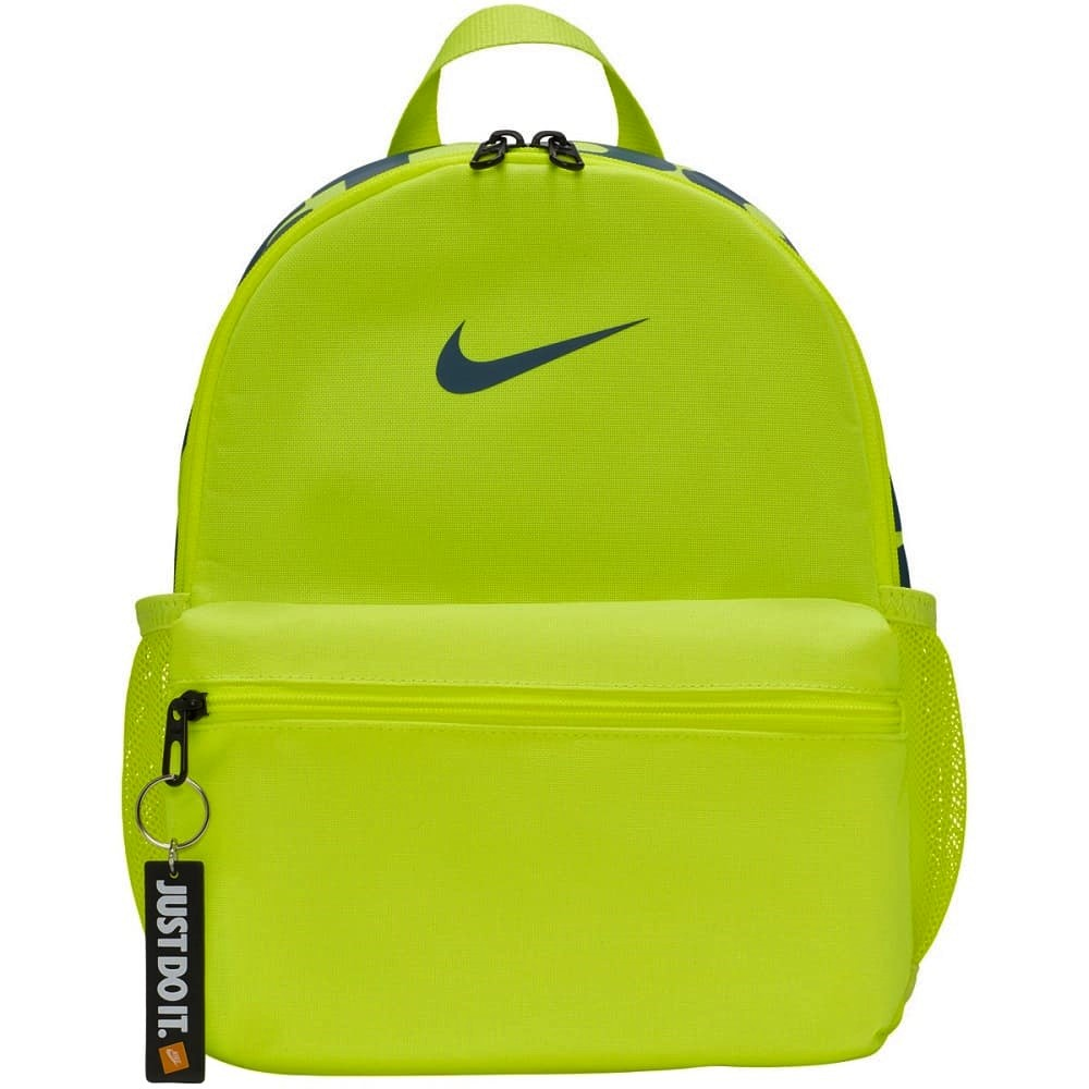 Nike Brasilia JDI Kids´ Backpack Volt/Green Abyss -