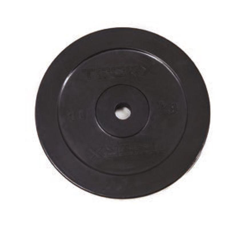Toorx Gewicht Scheibe Gummiert - 5 kg