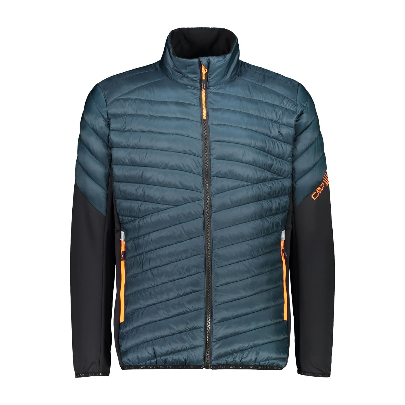 CMP MAN HYBRID JACKET PETROLIO - 50