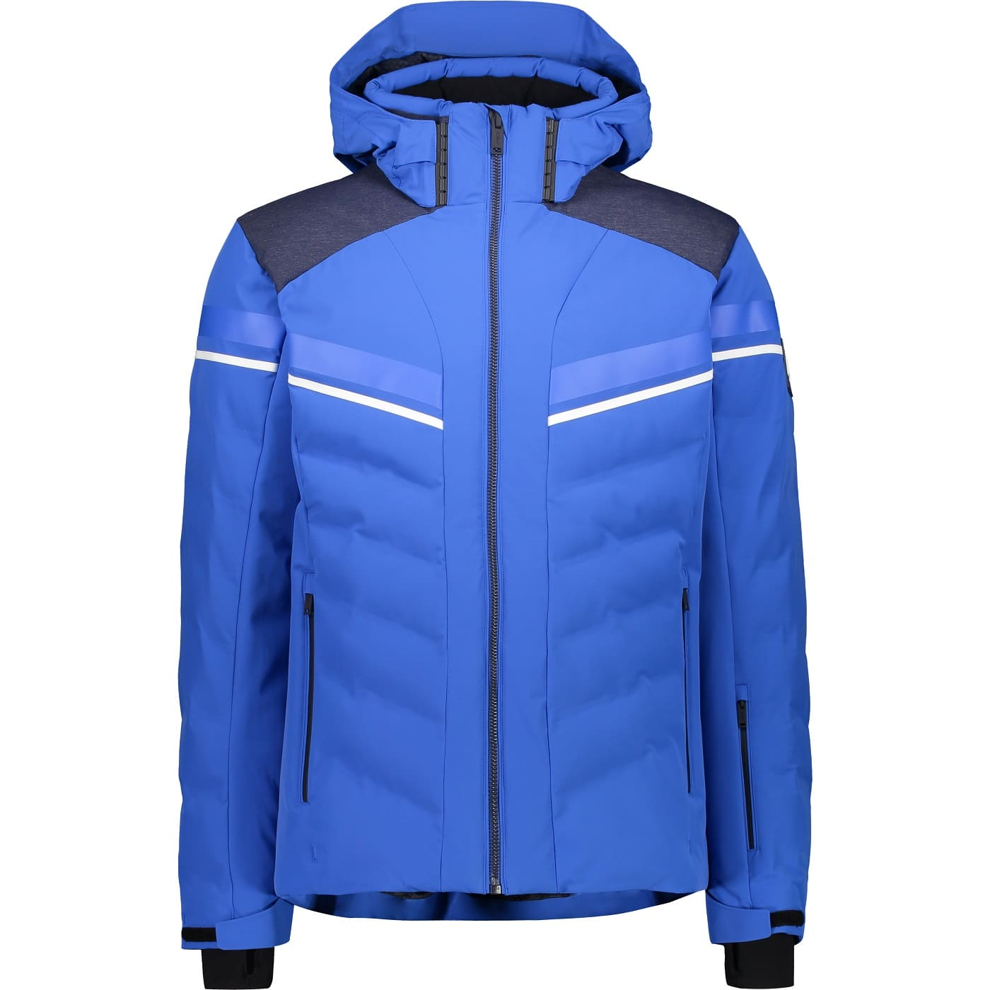 CMP MAN JACKET ZIP HOOD ROYAL - 50