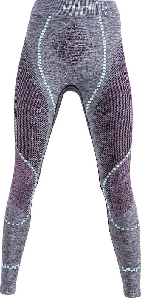 UYN Ambityon Baselayer Pants Long Black Melange/Pink/Aqua - S/M