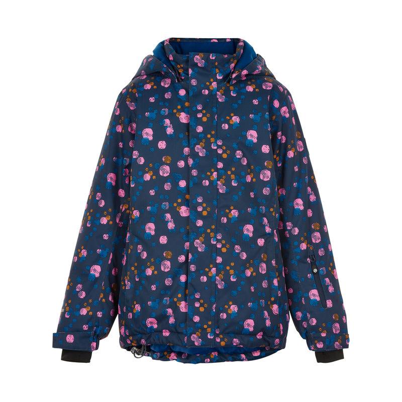 Color Kids Ski Jacke AOP Dress Blues - 116