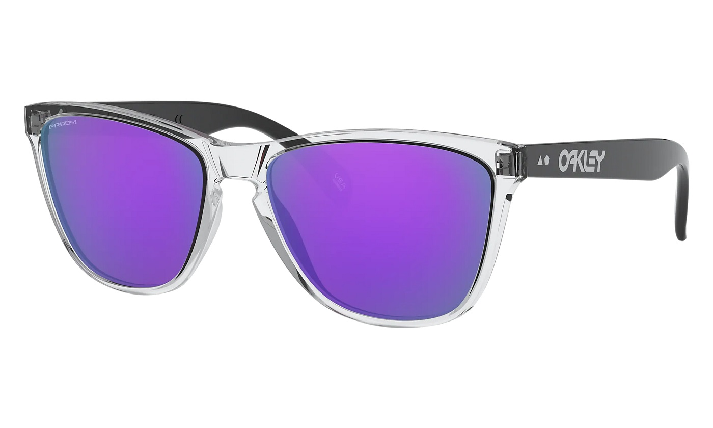 OAKLEY FROGSKINS 35TH POLISHED CLEAR
