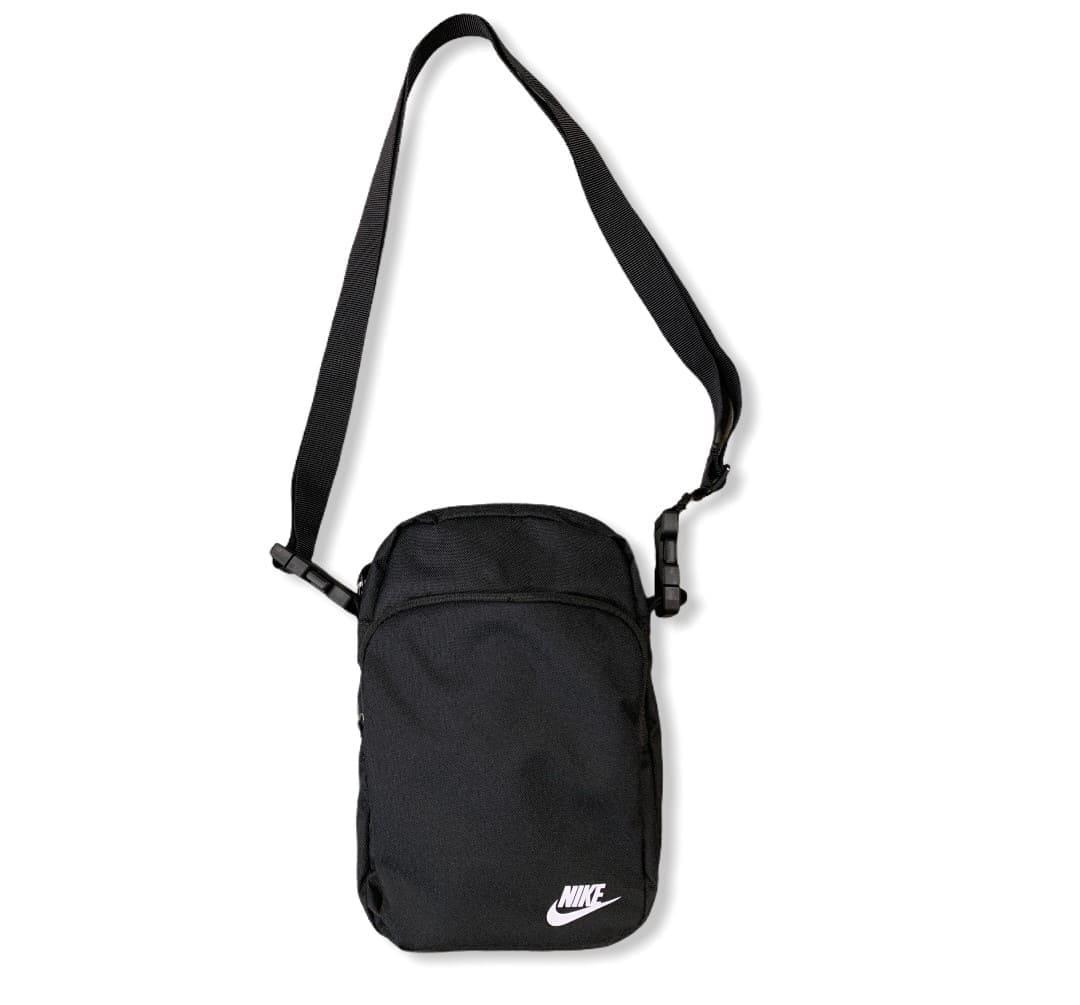 NIKE Heritage 2.0 Crossbody Bag BLACK/WHITE
