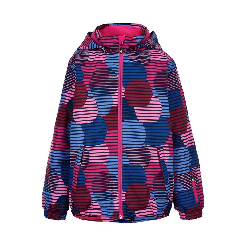 Color Kids Ski Jacke colorful Beet Red - 122