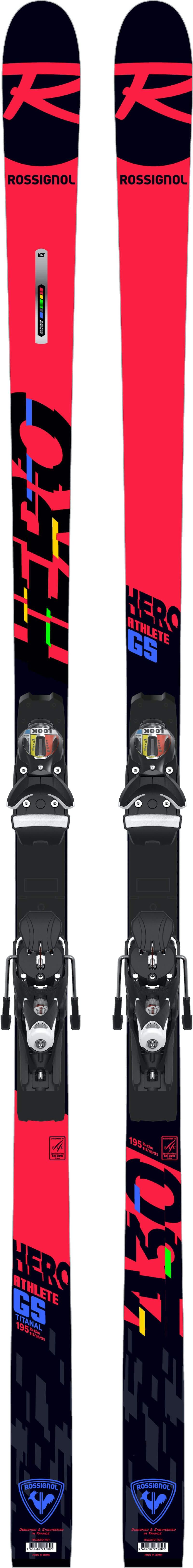 ROSSIGNOL HERO ATHLETE GS(R22)/SPX12 RBI - 175 cm