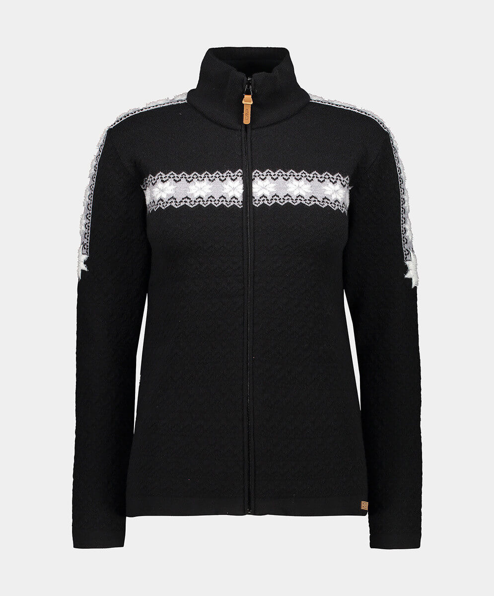 CMP WOMAN KNITTED PULLOVER NERO - 44/38