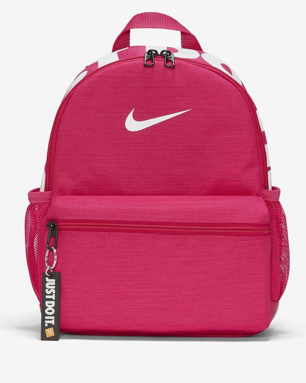 Nike Brasilia JDI Kids´ Backpack Fireberry/White -