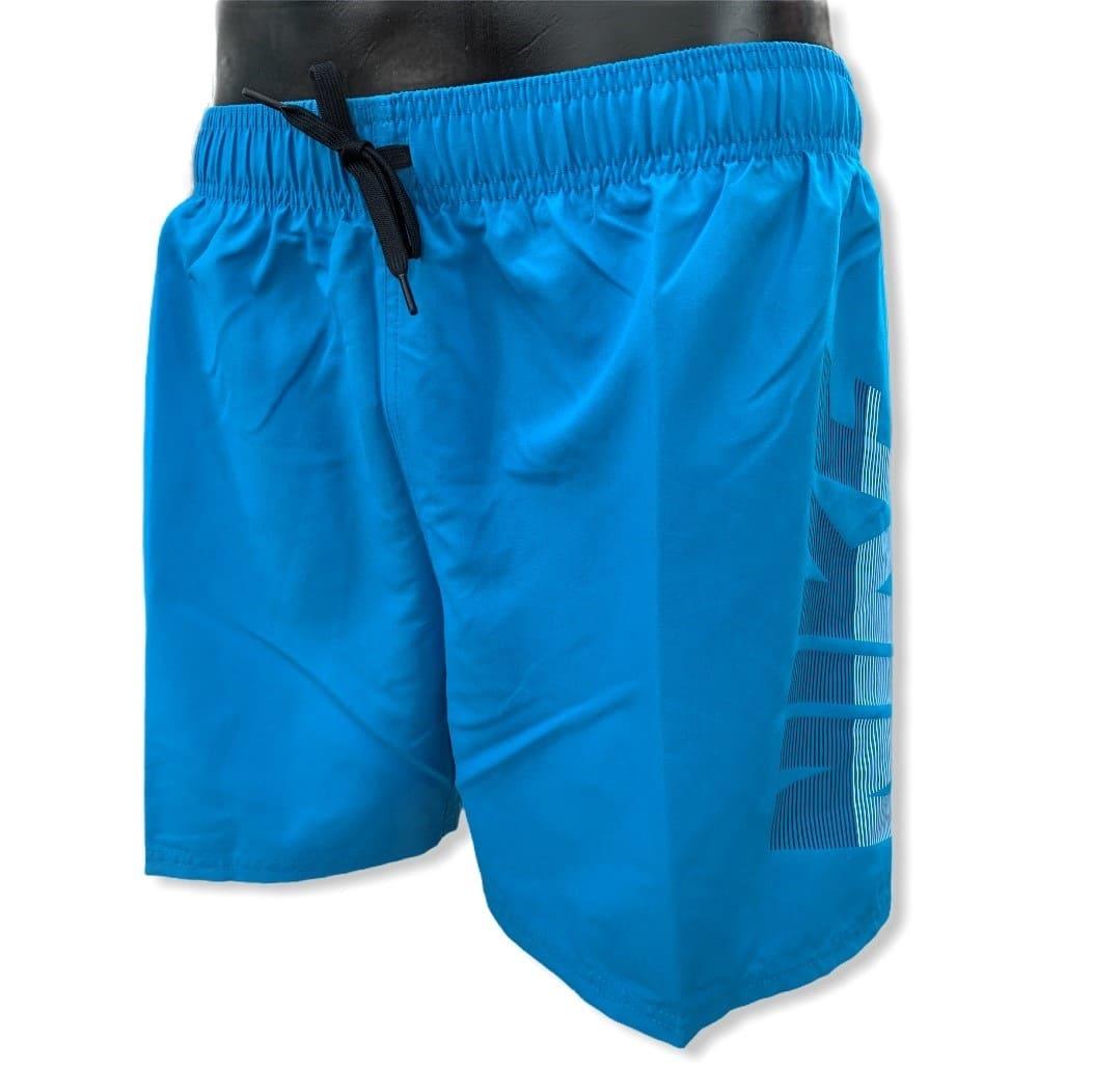 NIKE 5 VOLLEY SHORT SCHWIMMHOSE LASER BLUE - XL