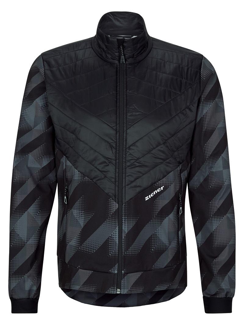 ZIENER RCE - JORLAN HERREN (jacket) black print - 48